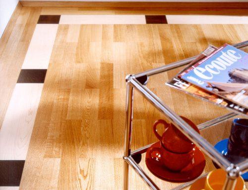 Geklebtes Parkett bietet Gestaltungsspielraum – Ungewöhnliche Fußböden