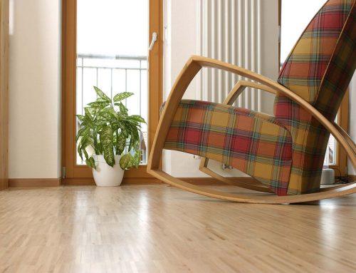 """Geklebtes Parkett reduziert die Lärmbelästigung – Fußboden ohne """"Trommeleffekt"""""""