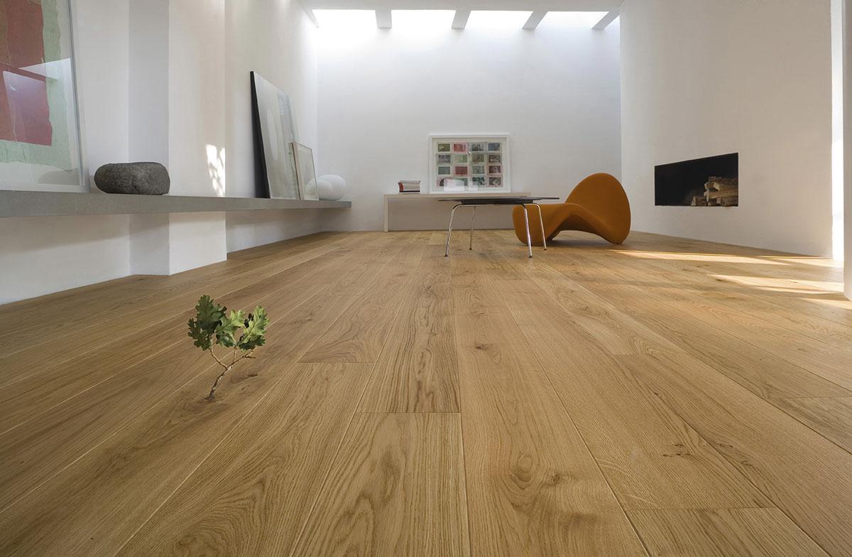 Nachhaltig wohnen mit Echtholz