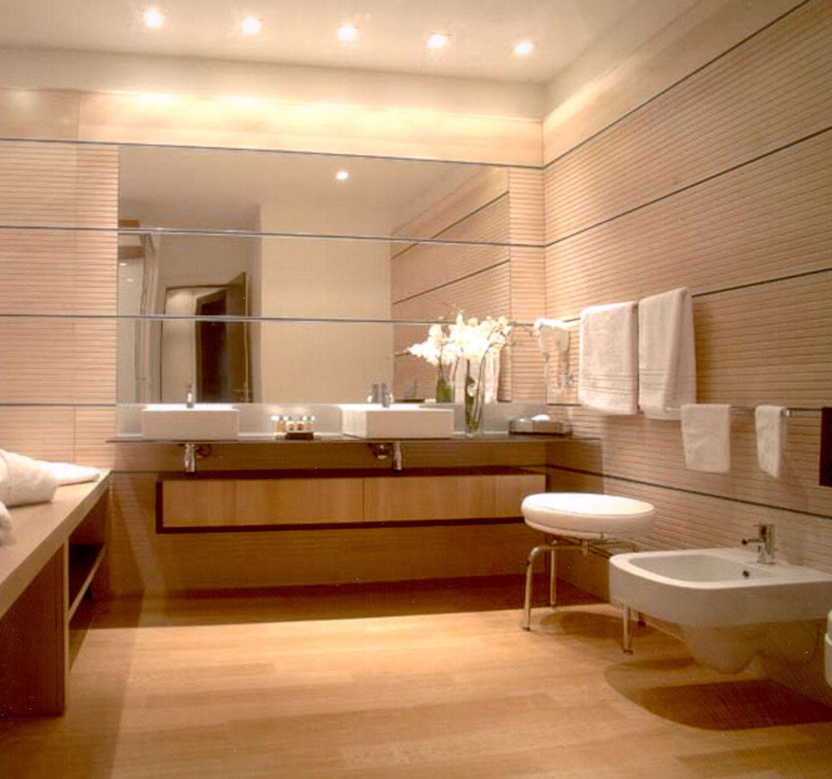 Parkett Im Badezimmer Holzboden Fur Die Wellness Oase
